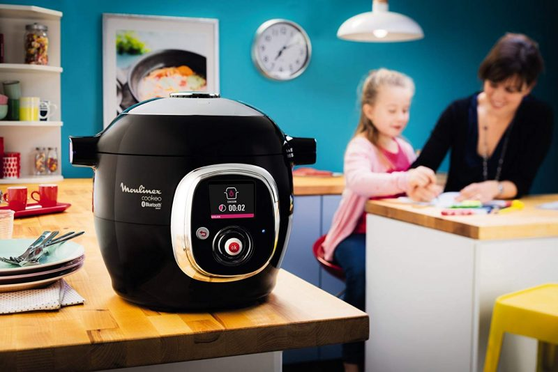 Cookea Connect, moulinex cookeo, comprar moulinex cookeo, robot de cocina moulinex cookeo, app cookeo connect
