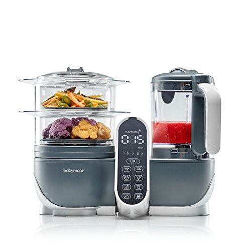 Robot de cocina para bebes, Babycook, babycook nutribaby, babymoov nutribaby, babymoov, babycook para gemelos, funcionamiento babycook, recetas babycook