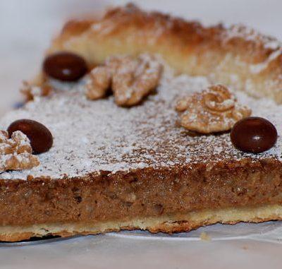 Tarta, nueces, tarta thermomix, tarta robot de cocina, tarta de nueces thermomix